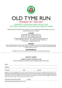 Old Tyme Run @ Crookham Street Social Club | Crookham Village | England | United Kingdom